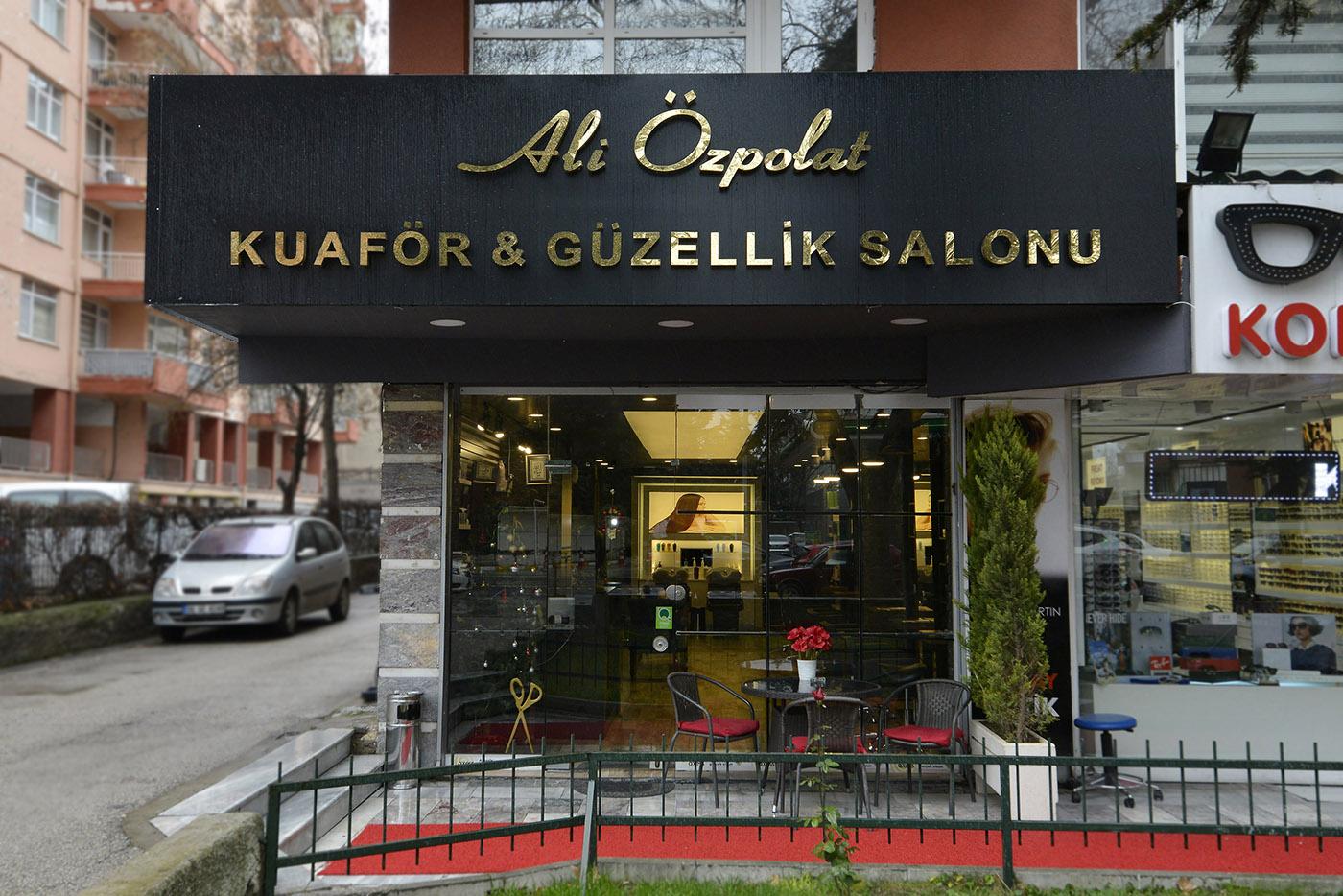 Ankara - Ali Özpolat Kuaför Salonu