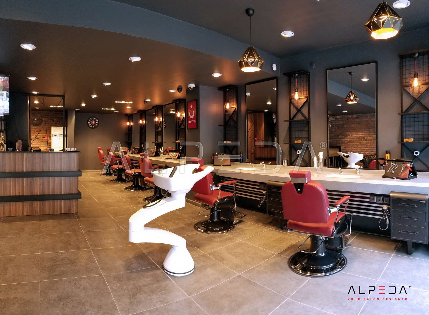 Alpeda Salon Furniture | Limousine Design | Saloon HY